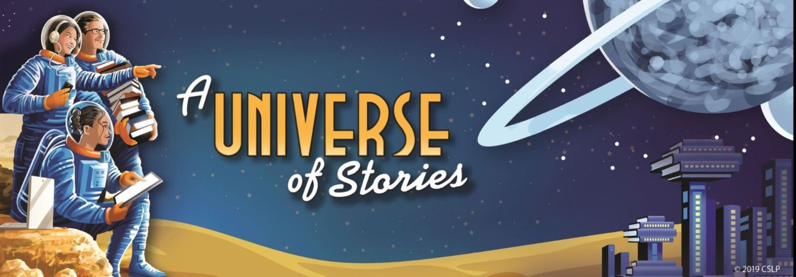 A Universe of Stories Banner 1