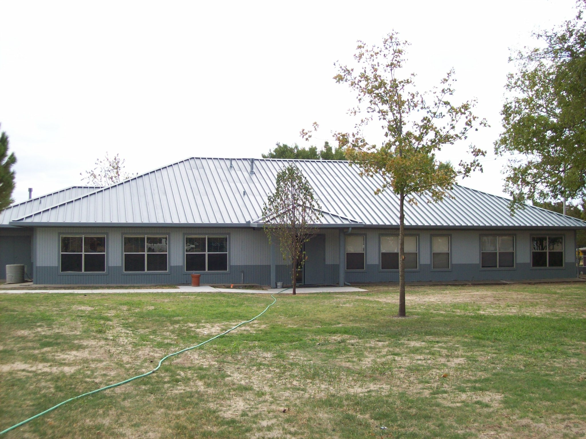 Front view of a recreation center.